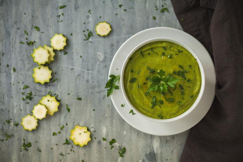 Cukiniowa zupa z ryżem /123RF/PICSEL