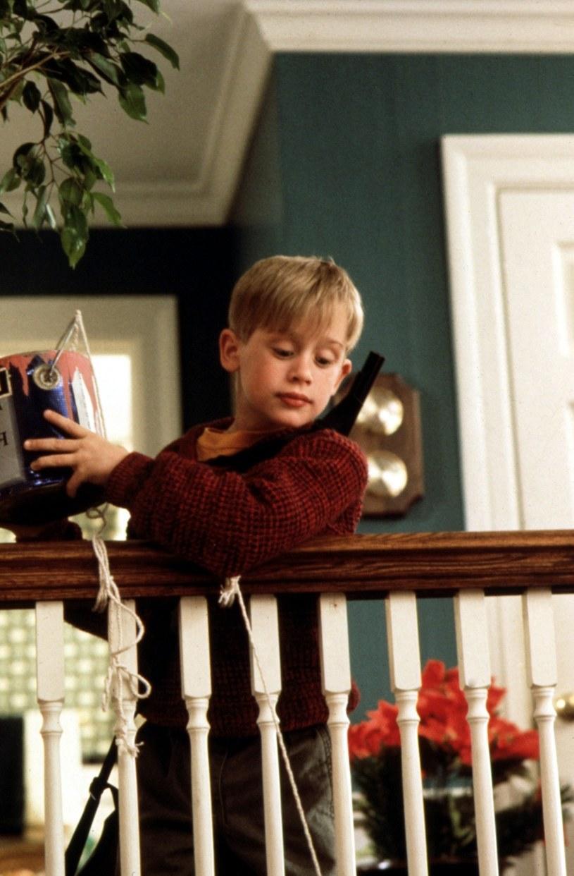 "Culkin w jako Kevin w filmie ""Kevin sam w domu""/Everett Collection /East News"