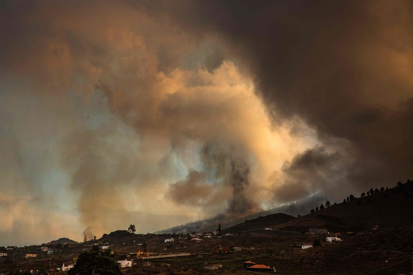 Cumbre Vieja na La Palma, Wyspy Kanaryjskie /AFP