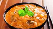 Curry z oberżynami - letni lekki posiłek
