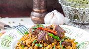 Curry z wołowiną i grzybami shiitake