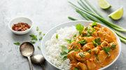 Curry zabielane mlekiem roślinnym