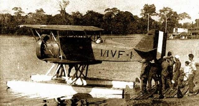 Curtiss Hawk II należący do peruwiańskiej flotylli rzecznej /archiwum S. Zagórskiego /INTERIA.PL/materiały prasowe