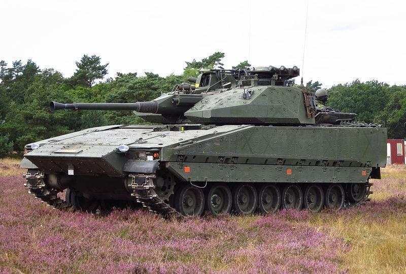 CV9040 należący do armii szwedzkiej                Fot. Jorchr /Wikipedia