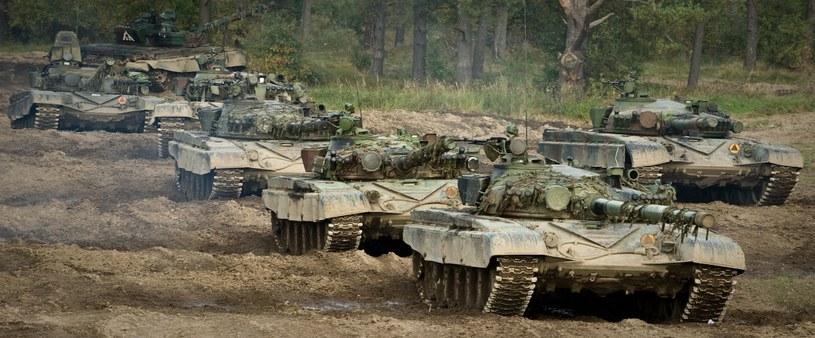 Ćwiczenia Anakonda-10 – symulowany atak czołgów na polskie pozycje /Fot. Adam Roik /