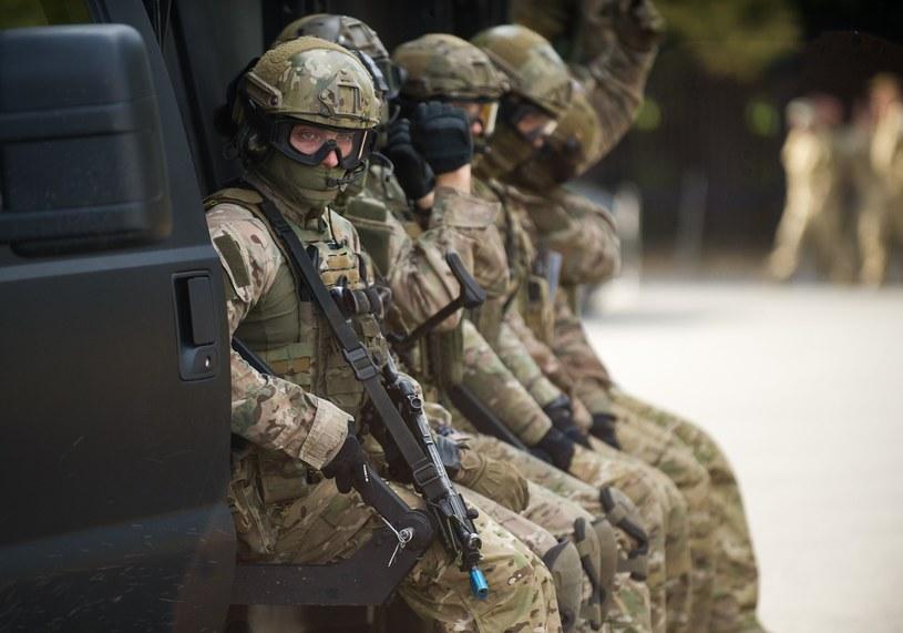 Ćwiczenia jednostki specjalnej GROM /Bartosz Krupa /East News