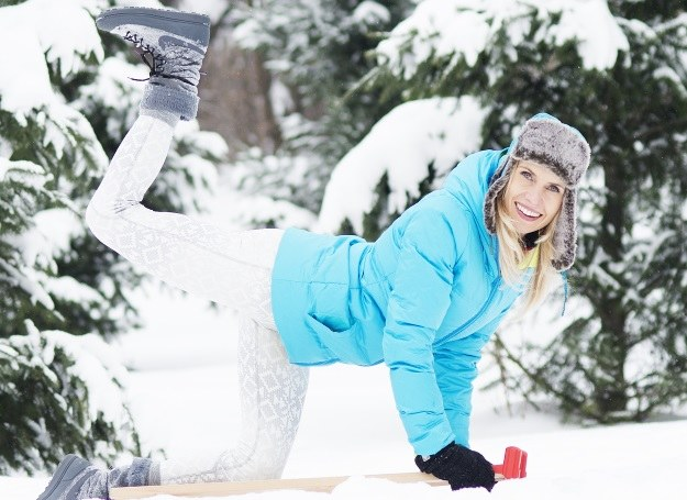 Ćwiczenia na świeżym powietrzu sprawią, że twoje nogi nabiorą pięknego kształtu! /materiały prasowe