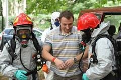 Ćwiczenia na wypadek epidemii ebolii w Krakowie