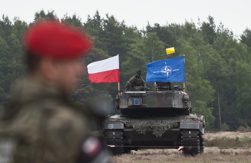 Ćwiczenia NATO w Polsce (zdjęcie ilustracyjne) /Filip Blazejowski /Agencja FORUM