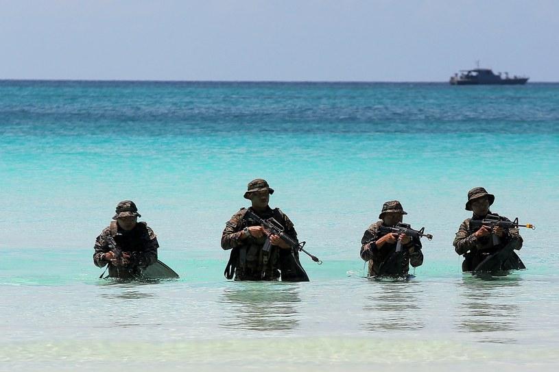 Ćwiczenia służb na wyspie Boracay na Filipinach /Xinhua/Rouelle Umali /East News