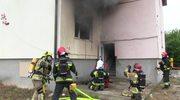 Ćwiczenia strażaków w Wójtowie