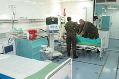Ćwiczenia w Wojskowej Jednostce Ewakuacji Medycznej w Balicach