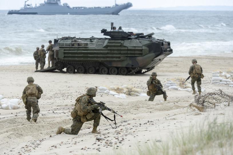 Ćwiczenia żołnierzy NATO nad Bałtykiem /Gerard /Reporter