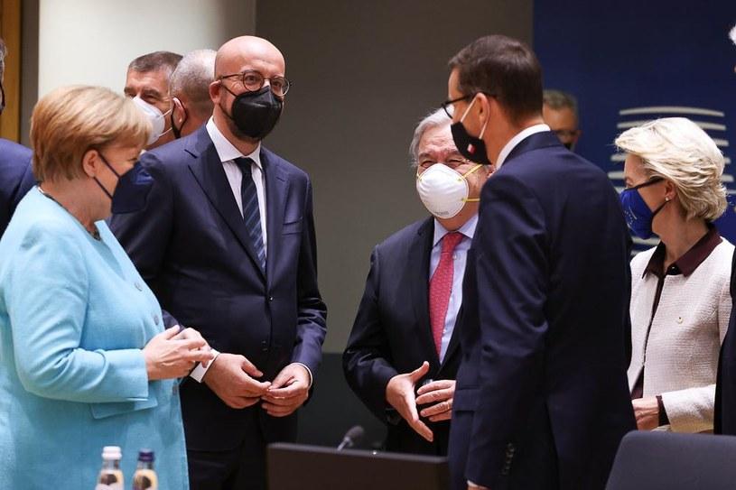 Cyberataki i relacje z Rosją to najważniejsze punkty unijnego szczytu /KPRM /materiały prasowe