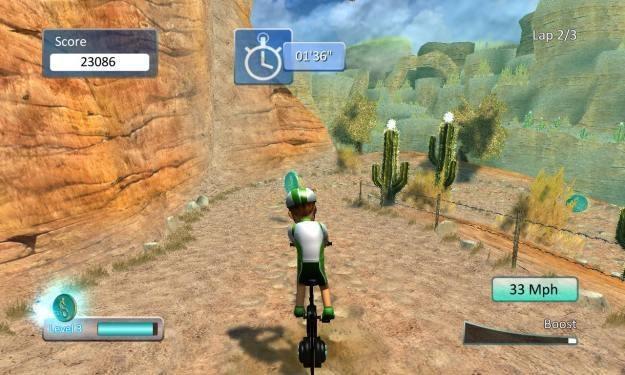 Cyberbike 2 - motyw graficzny /Informacja prasowa