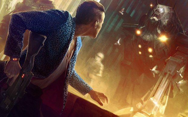 Cyberpunk 2077 - motyw graficzny /