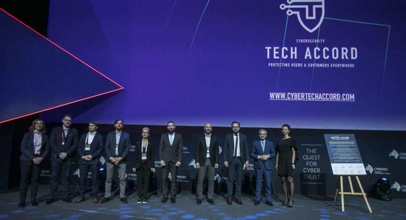 Cybersecurity Tech Accord podpisane w Krakowie /materiały prasowe