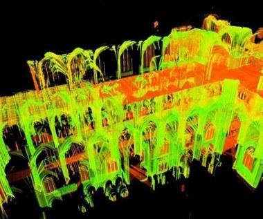 Cyfrowe skany z 2015 r. pomogą odbudować spaloną katedrę Notre Dame