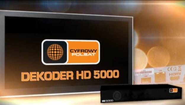 Cyfrowy Polsat - aktualizacja dekodera HD 5000 /materiały prasowe