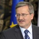 Cyfrowy portret prezydenta Komorowskiego