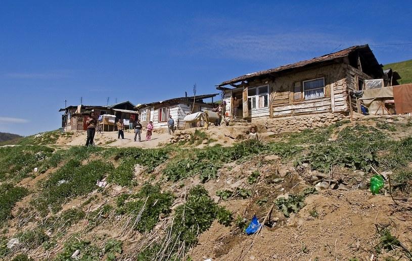 Cygańska osada Zehra /Stanislaw Ciok /Reporter