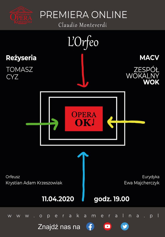 Cykl operaOK! organizowany jest przez Warszawską Orkiestrę Kameralną /materiały prasowe
