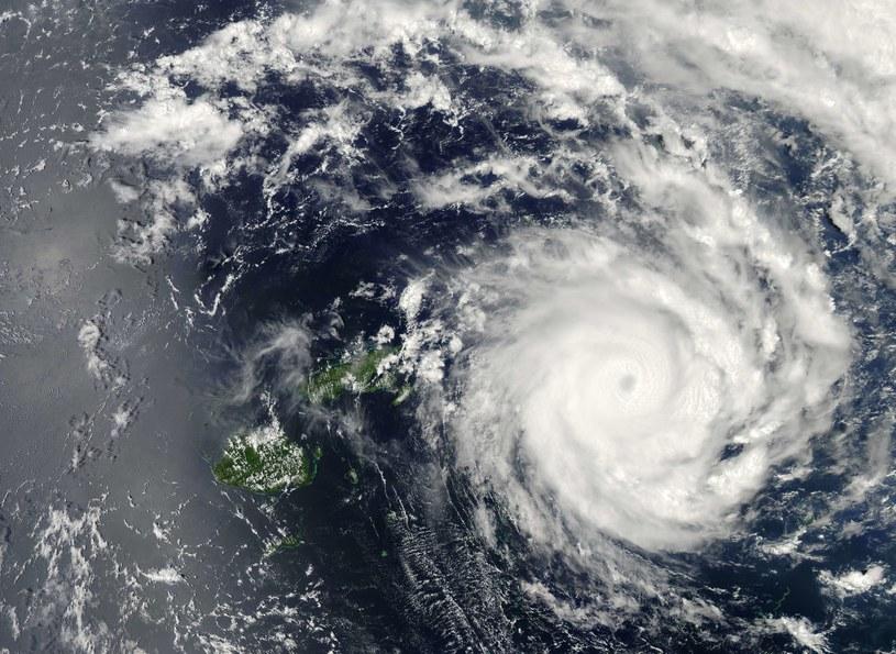 Cyklon Ian - zdjęcie NASA /AFP