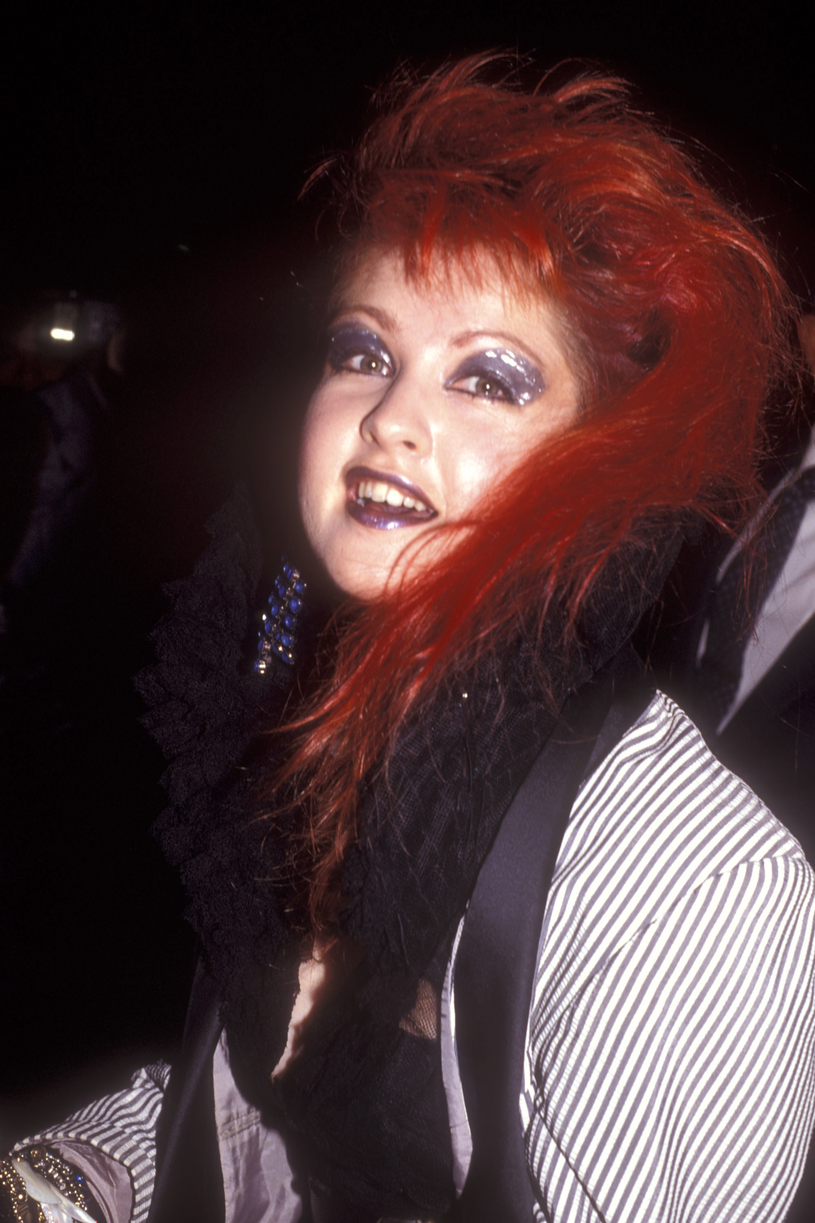 Cyndi Lauper, lata 80. /Barry King /Getty Images