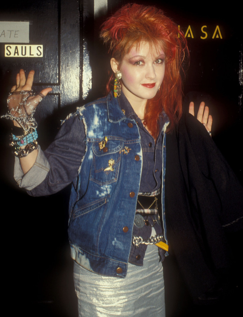 Cyndi Lauper w 1984 roku /Barry King /Getty Images