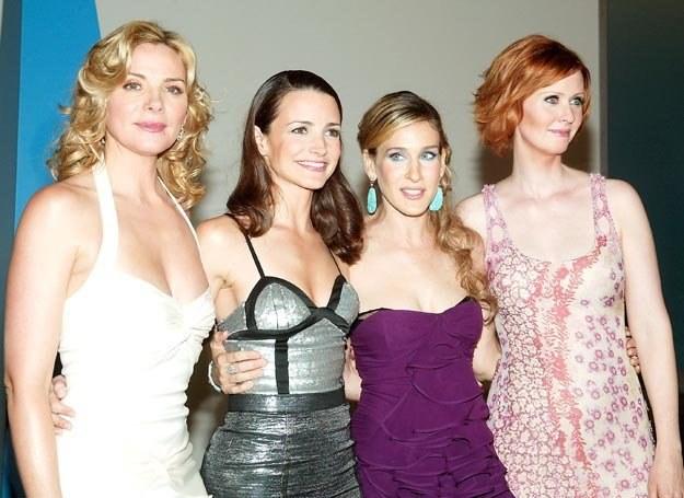 Cynthia Nixon, Sarah Jessica Parker, Kristin Davis i Kim Cattrall /Interia.tv