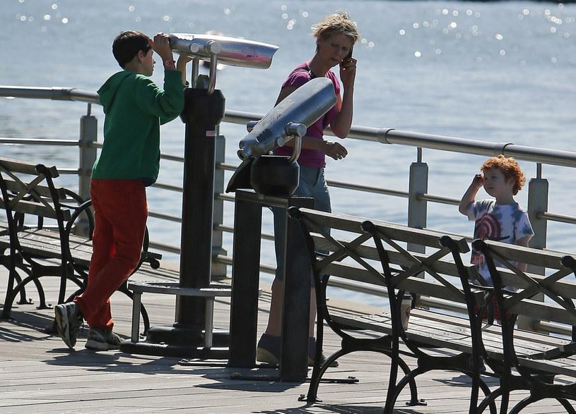 Cynthia Nixon z synami /Ryan Turgeon / Splash News /East News