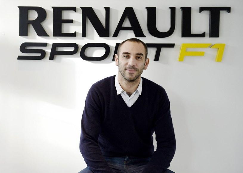 Cyril Abiteboul, szef Renault F1 /FRANCK FIFE /AFP