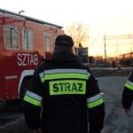 Cysterny przewożące gaz rozszczelniły się na bocznicy kolejowej