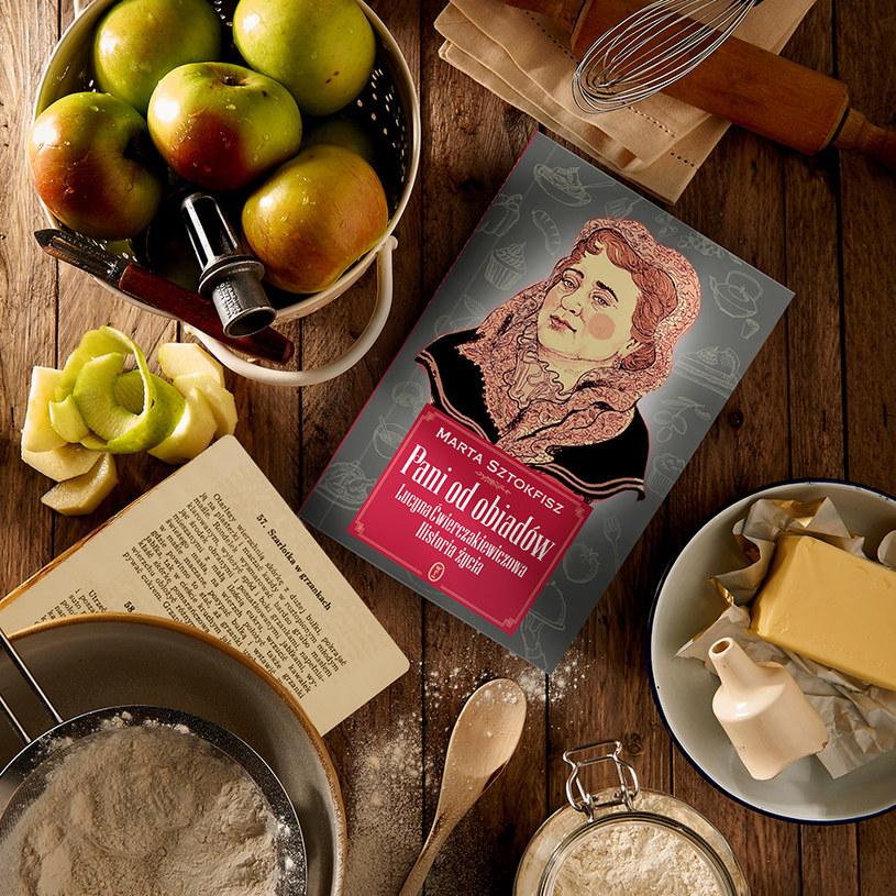 """Cytowany fragment pochodzi z książki Marty Sztokfisz """"Pani od obiadów. Lucyna Ćwierczakiewiczowa. Historia życia"""" /materiały prasowe"""