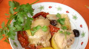Cytrynowy kurczak w ziolach