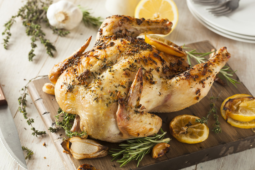 Cytrynowy kurczak /123RF/PICSEL