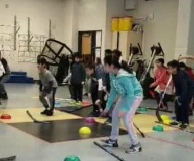 Cza-cza elementem hokeja. Zobacz, jak taniec pomaga w nauce gry!
