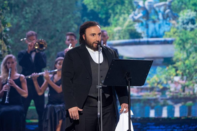 Czadoman jako Pavarotti /M. Zawada /Polsat
