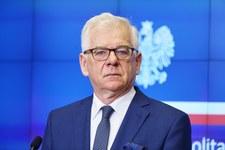 Czaputowicz o gościach zaproszonych do Warszawy na 15 rocznicę wstąpienia Polski do UE