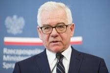 Czaputowicz tłumaczy się przed NATO ws. Fort Trump