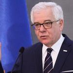 Czaputowicz: Ukraina oczekuje bardziej zdecydowanych działań