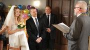 Czarek i Konstancja na ślubnym kobiercu