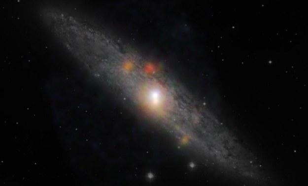 Czarna dziura z galaktyki NGC 253 /NASA