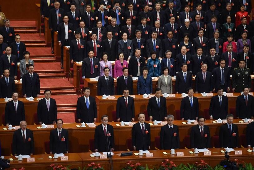 Czarne chmury nad Chinami? /AFP