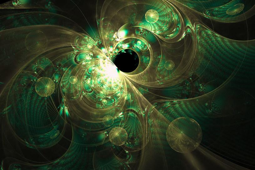 Czarne dziury zachowują się jak płyn turbulentny? /123RF/PICSEL