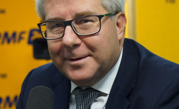 Czarnecki o Jacku Saryusz-Wolskim: Milczenie oznacza brak dementi. Od osób godnych telefony odbiera