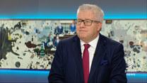 """Czarnecki w """"Graffiti"""": Zaskoczenie, że to, co uchodzi Niemcom czy Francuzom, nie uchodzi Polakom"""
