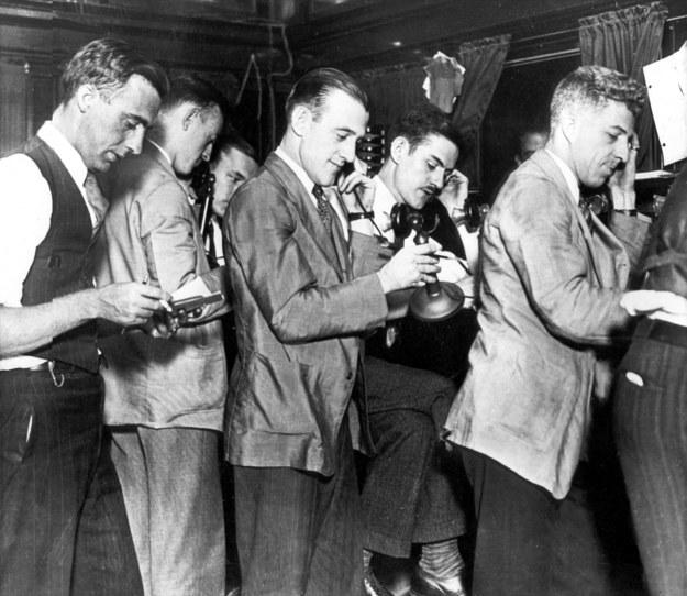 Czarny czwartek, 24 października 1929 r. / PAP/Photoshot    /PAP