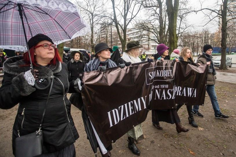 Czarny protest, zdj. ilustracyjne /Katarzyna Chmura-Cegielkowska /East News