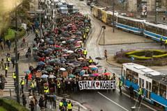 Czarny wtorek w polskich miastach